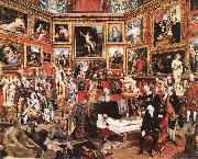 ZOFFANY  Johann The Tribuna of the Uffizi oil painting picture wholesale